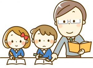 先生と生徒